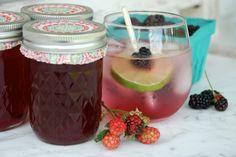 blackberry-simple-syrup | tinyfarmhouse