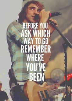 Stay Awake. All Time Low. some of my favourite lyrics <3
