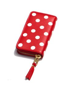 Comme Des Garcons Polka Dot Continental Wallet