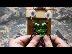How to make a paracord fancy double cobra for dog collar belts rifle sling never seen before!