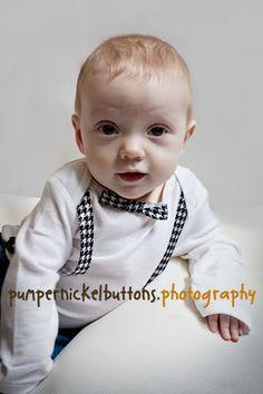 Free Sewing Pattern - Baby Nerd Shirt Tutorial from the Baby Free Sewing Patterns Category