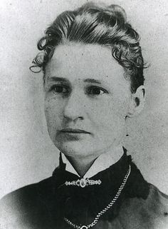 """Susanna """"Dora"""" Salter, born on 3/2/1860. In 1887, at age 27, she was elected Mayor of Argonia, Kansas, becoming the 1st woman mayor and the 1st woman elected to political office in the United States."""