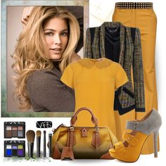 Yellow Pants!, created by justjules2332 on Polyvore
