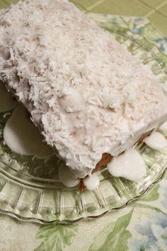 Lemon-Coconut Pound Cake Loaf - Southern Hospitality   Southern Hospitality