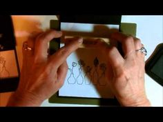 cardmaking video: Window Box Card using the Envelope Punch Board with Deb Valder ... tips on measuring and bonus demo on how the make a paper bow using the envelope punch board ... great instructions ... Stampin' Up!