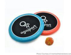Koosh ball trampoline/frisbee marblesthebrainstore.com