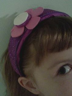 Doc McStuffins headband!  How cute!