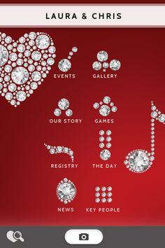 Rubies and Diamonds by Appy Couple