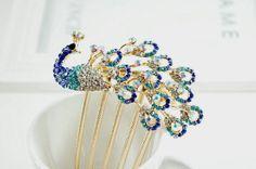 unique wedding hair accessories {etsy}