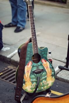 Street musician,LONDON.