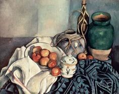 [Cezanne - Still Life with Apples]