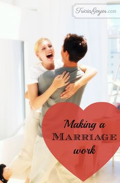 """Like anything else you want to succeed at, marriage takes training! If we want to have a healthy relationship, we have to put in the training and do what it takes to make it work. Despite the way Hollywood depicts intimacy, good things don't just """"happen""""; proper training is vital to accomplishing any goal. Here are some things you can do to make your marriage work ... today!"""