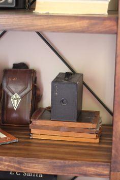 My #vintage camera from #Goodwill.  #Kodak #thrift #home #decor