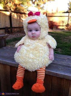 Baby Duck Homemade Costume