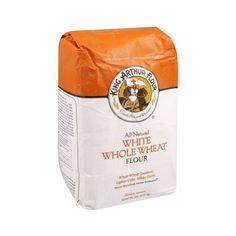 (2 Pack) King Arthur Flour White Whole Wheat Flour 5 lb. Bag