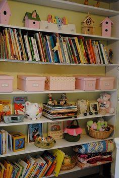 Organization idea for books