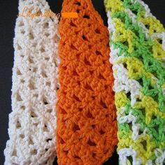 Free Crochet Shell Stitch Dish Cloth Pattern crochet dishcloth