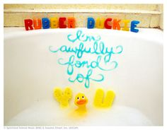 Vo-vo-vo-de-o! We <3 Rubber Duckie.