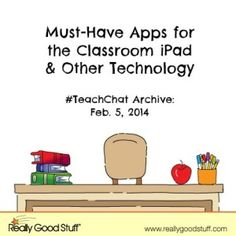Must Have Apps for the Classroom iPad and Other Technology