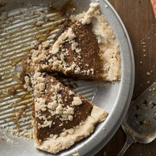 Gluten-Free Shoofly Pie - This Pennsylvania-Dutch favorite has layers of cakey, gooey, rich molasses and a delicate cinnamon-scented crumb crust.