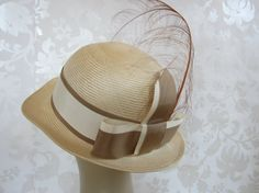 50's Feathered Hat// Vintage  A Day in Paris by GAGAOVERVintage, $38.00