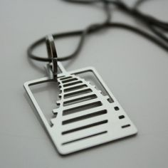 Audra Azoury: Railroad Necklace, at 22% off!