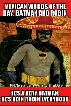 Mexican word of the day robin