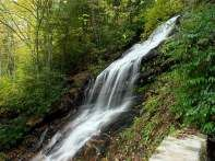 Cascade Falls: Located at milepost 272 on the Blue Ridge Parkway, E.B. Jeffress Park and Cascade Falls is perfect for families. The park includes restrooms, benches, grills and a large open field with vistas of the surrounding mountains. A short half-mile loop leads hikers along a small stream that suddenly widens to about 15-feet before dropping off the mountain side. Two overlooks are stationed only feet away from the cascading falls, providing the perfect photo-op. (45 minutes North / 35 M...