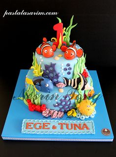 Nemo Cake - Another great #NemoCake We love!