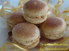 Tiramisu macarons |Rice and Coconut