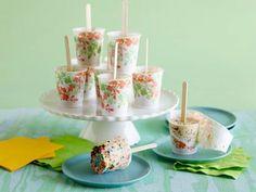 Ice Cream Freezer Pops, No Machine Needed