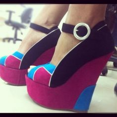 Look at those wedges!!