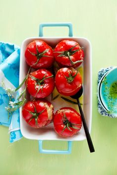 Stuffed Tomatoes with Pork