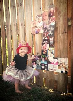 LOVE this idea!!! On the kids birthdays, have photos of them from that year and make a collage into the number they are turning!!