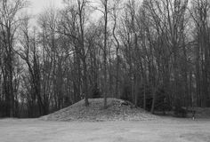 Rare mound in Noble County, Indiana that has not been destroyed by university archaeology