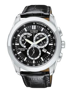 CITIZEN Men's Eco-Drive Dress Chronograph Watch
