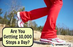 How to Get 10,000 Steps a Day | via @SparkPeople #fitness #exercise #workout #walk