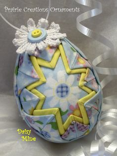quilted easter eggs - Google Search