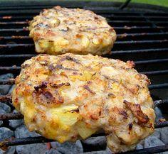 Grilled Cheesy Apple Pie Chicken Burger
