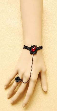 Ruby bracelet and ring