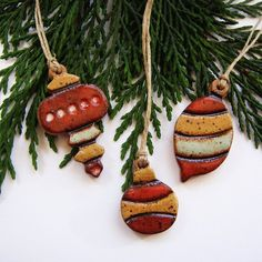 clay beads for ornaments...LOVE