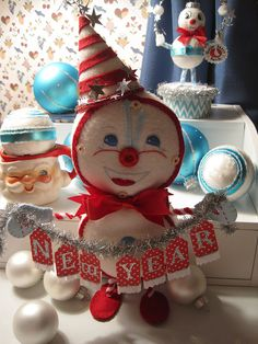 New Year garland idea