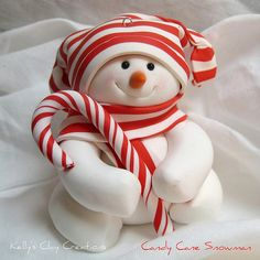 Handmade snowman ornaments