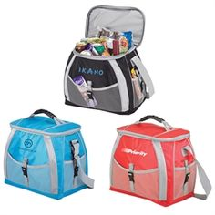 Store more and keep it cool longer with this large capacity 21 liter cooler bag that holds 24 12oz cans. It features PEVA insulated lining, carry handle, a convenient adjustable shoulder strap and mesh pockets.  The 21 liter cooler bag holds 24 12oz cans, has a PEVA lining, carry handle, an adjustable shoulder strap and mesh pockets.