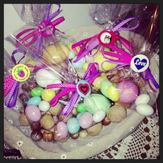 Easter gift for teacher.... Little eggs with pins