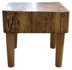 Vintage Butcher Block Table - $995.