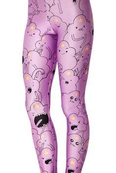 Lovely Pink Cartoon Print Leggings