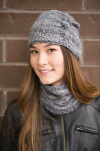 Ruched Cowl and Hat - from the Fall 2014 Issue of Love of Knitting magazine