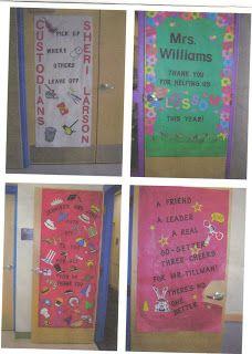 Teacher Appreciation Doors