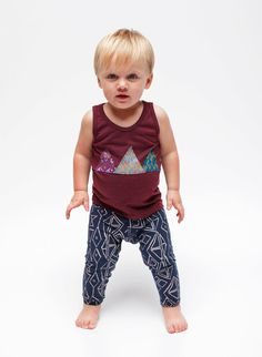 mixed prints for boys